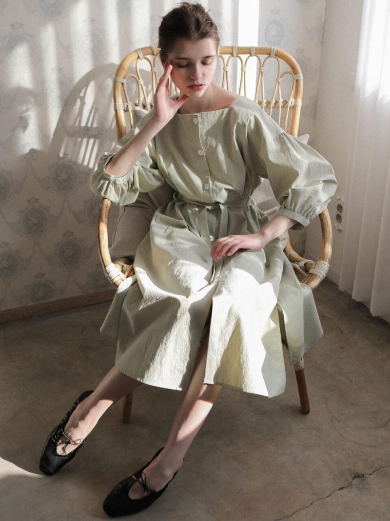 4.18 Laura Dress_Sage Green
