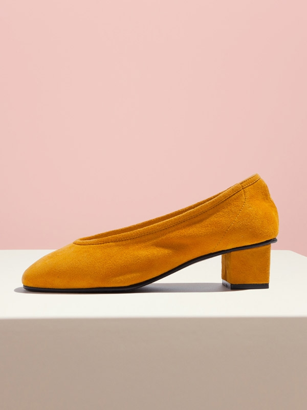 91221YE Rosy Pumps Yellow