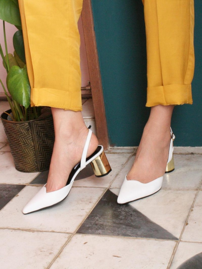 APTO DE LUJO_Wendy Sling-Back Shoes Pbnp001