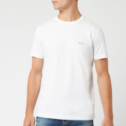 BOSS Hugo Boss Men's Basic Crew Shoulder Logo T-Shirt - White - S