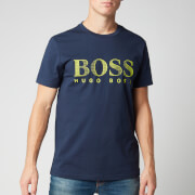 BOSS Men's T-Shirt Rn - Navy - S