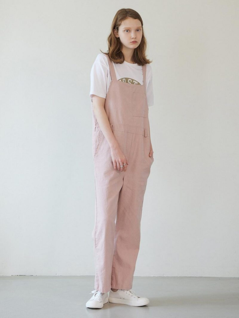 Basic Linen Jumpsuit