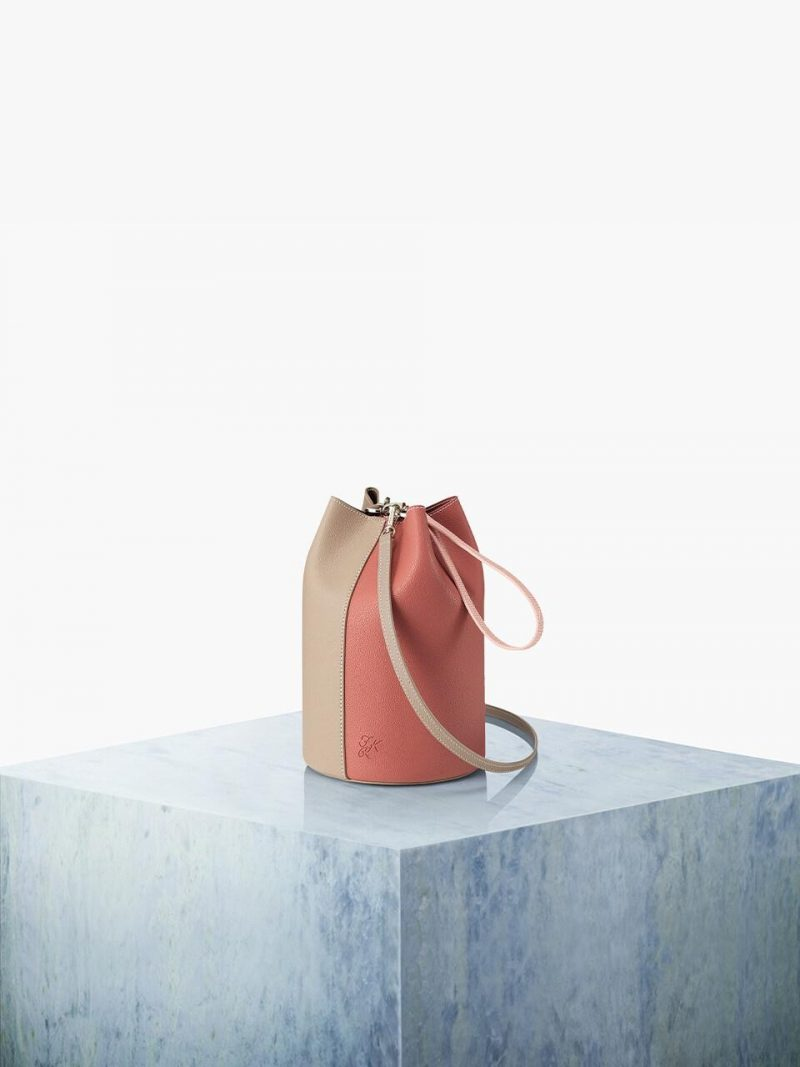 Bottle Bag 15 Basic Solid Set_Rose Pink Com