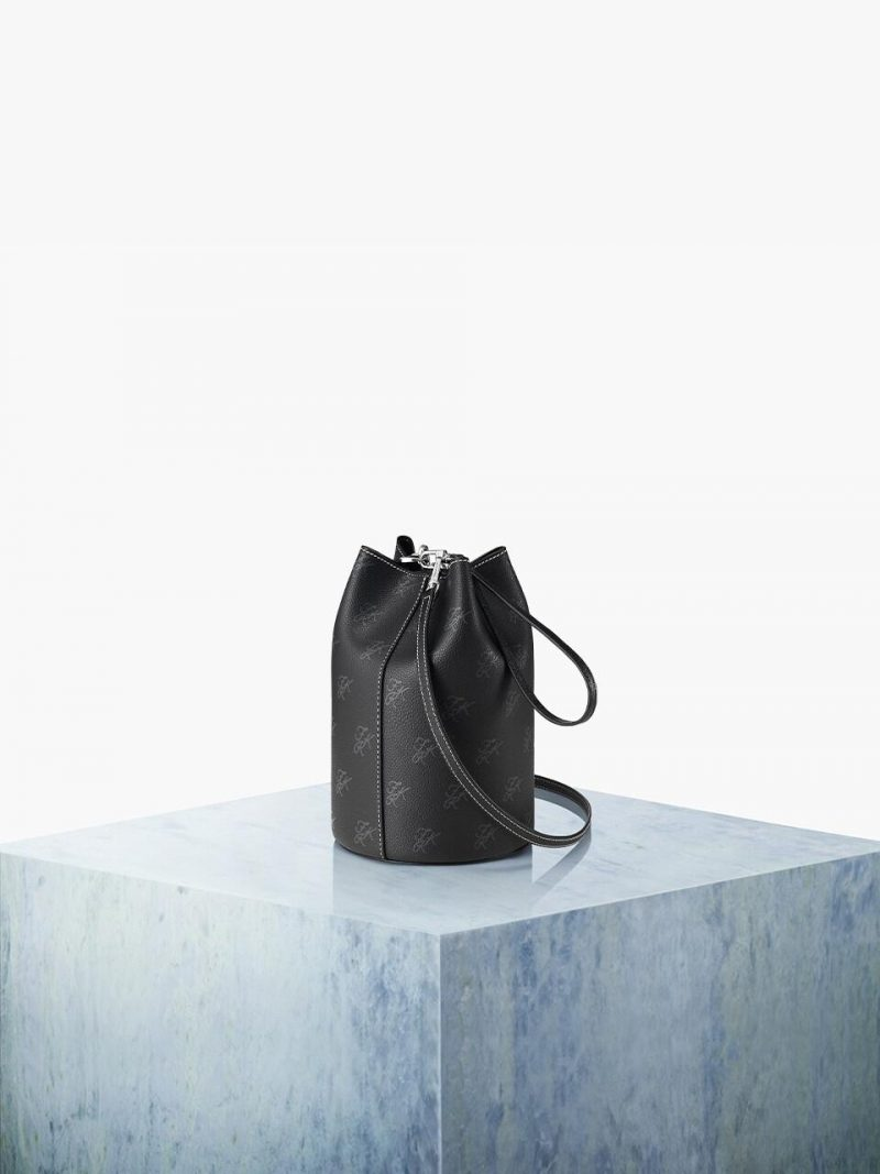 Bottle Bag 15 Pattern Solid Set_Black