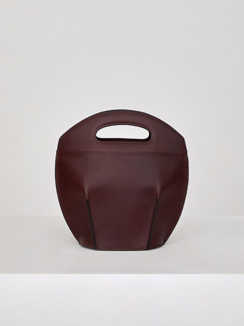 Bucket Bag_Burgundy