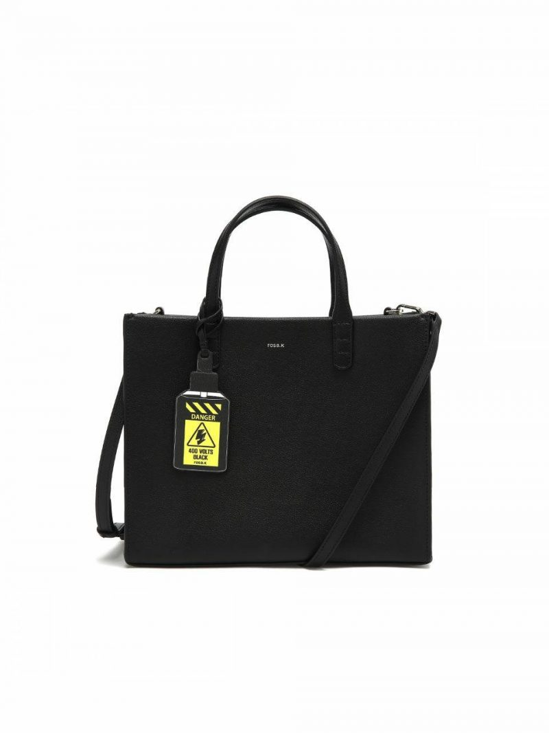 Cabas Day Tote Bag M_Black_RTTSBC678BK