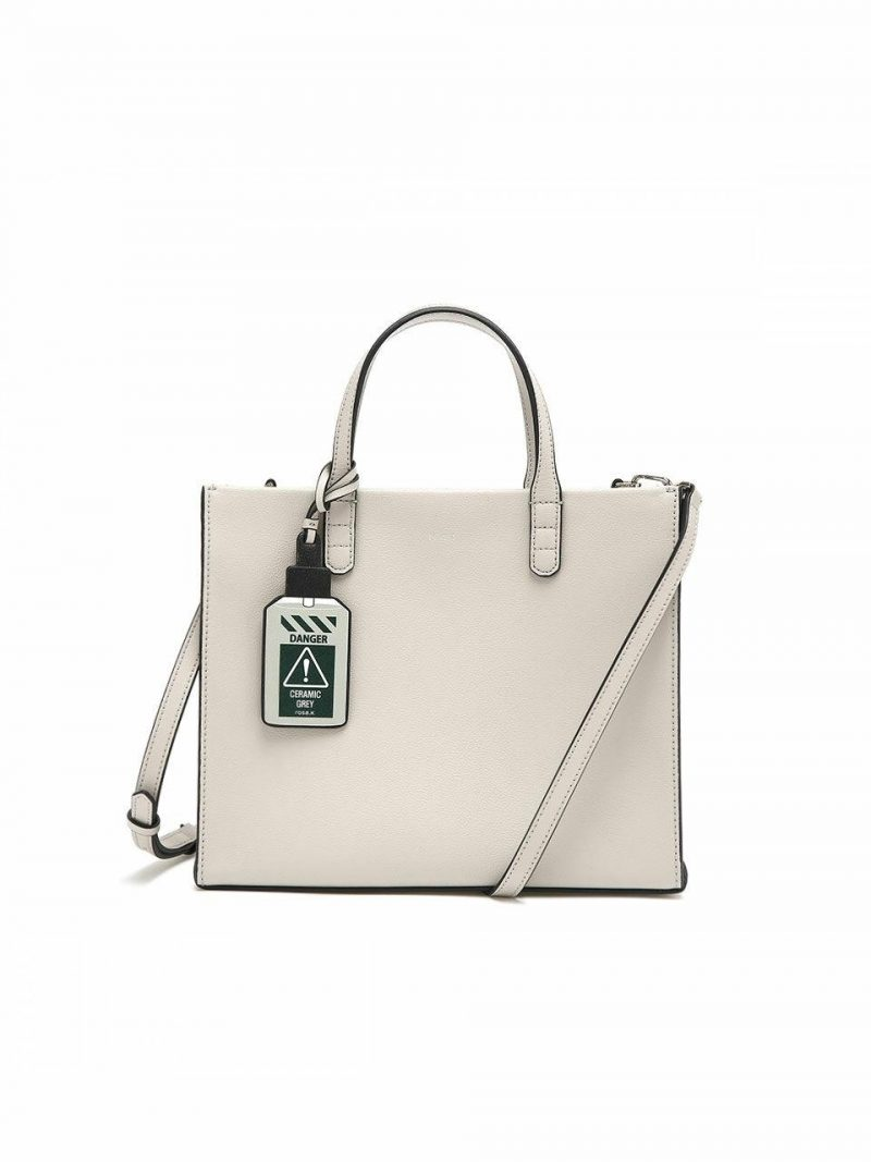 Cabas Day Tote Bag M_Light Grey_RTTSBC678LG