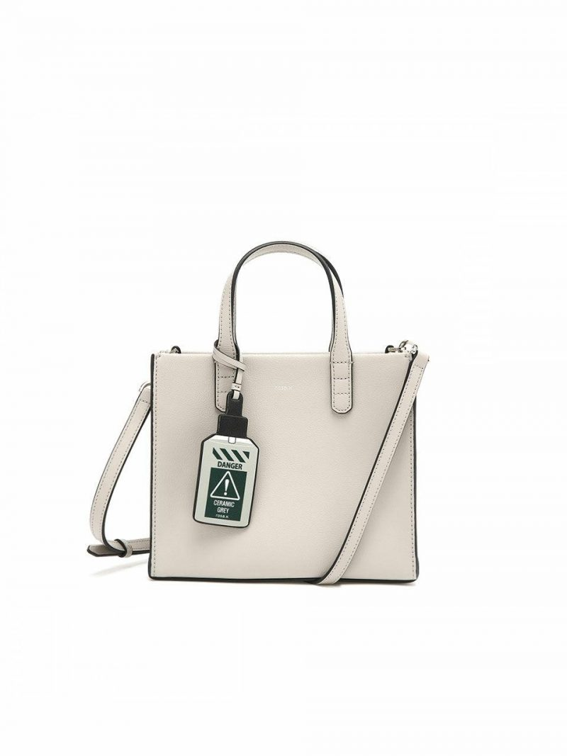 Cabas Day Tote Bag S_Light Grey_RTTSBC679LG
