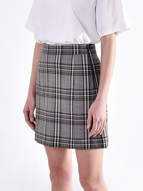 Classic Check Set-up Skirts Green