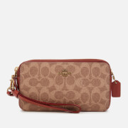 Coach Women's Colorblock Signature Kira Cross Body Bag - Tan Rust