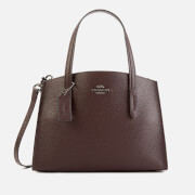 Coach Women's Polished Pebble Leather Charlie 28 Carryall Bag - Oxblood