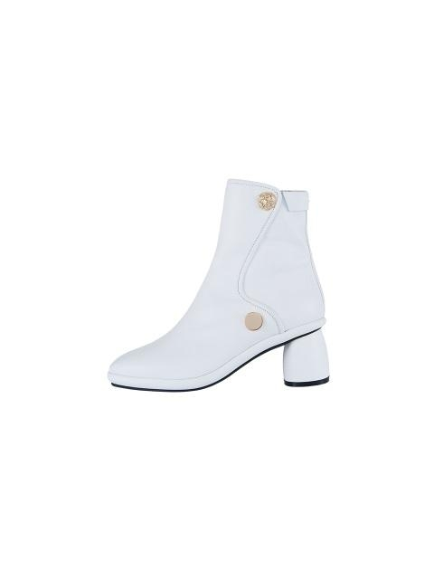 Curved Middle Ankle Boots