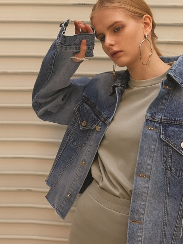Denim Cutting Jacket