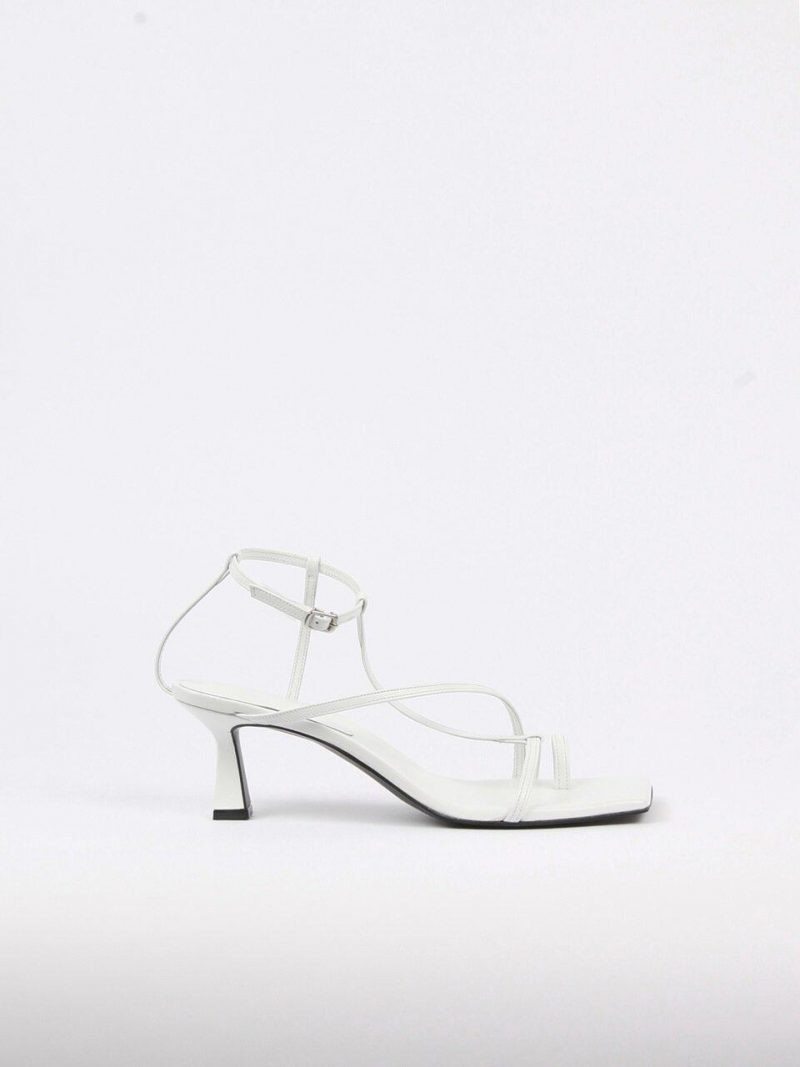 Didie Sandals Leather White