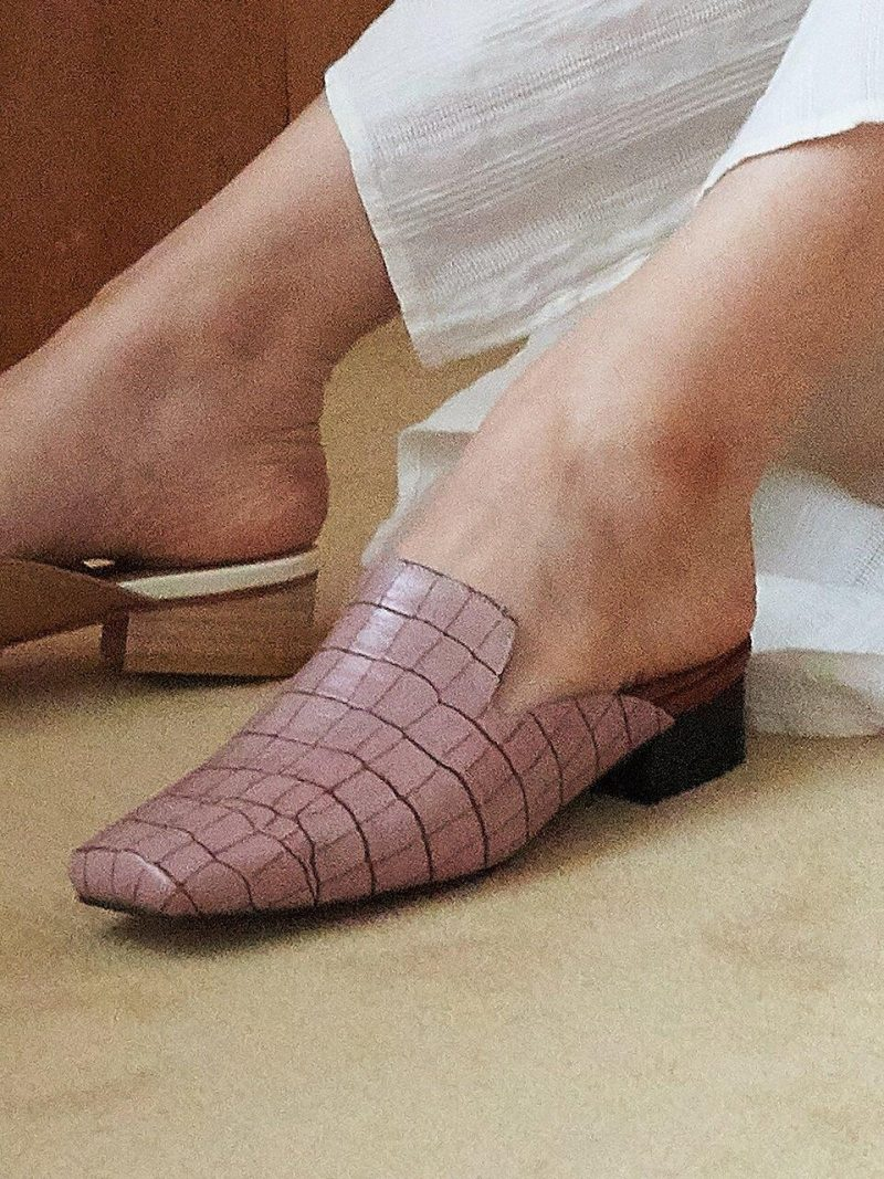 Donna Mules Pink