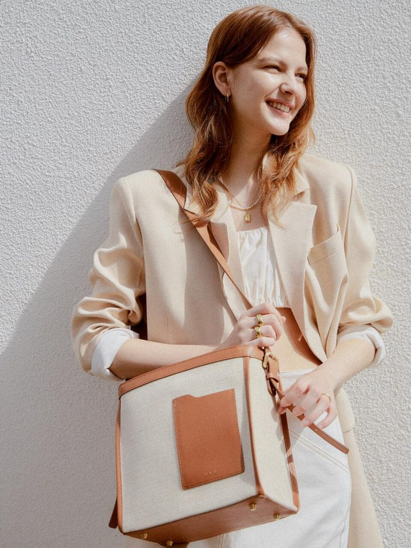 [Exclusive] Square Hobo Bag_2 Colors