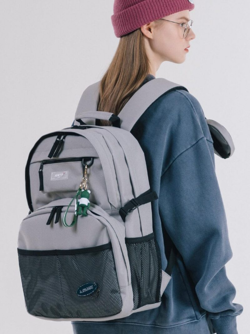 Expose Label Backpack Gray