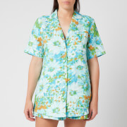 Faithfull the Brand Women's Charlita Shirt Dress - Gardone Floral - XS