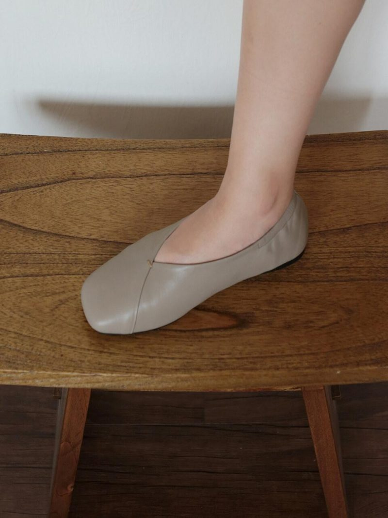 Flat Shoes YSD0570_Taupe