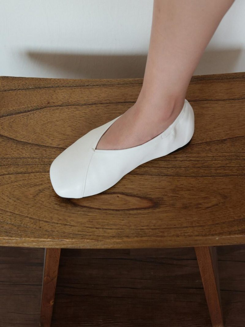 Flat Shoes YSD0570_White