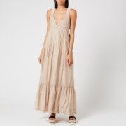 Free People Women's Frankie Pintuck Maxi Dress - Sand - XS