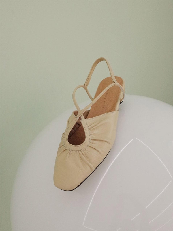 French Ballet Shoes Beige