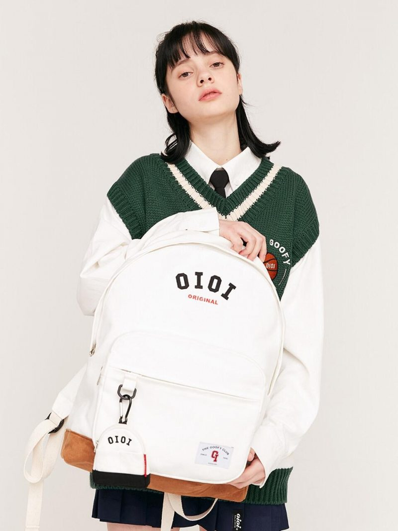 Heritage Oxford Backpack Ivory