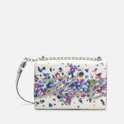 Karl Lagerfeld Women's K/Signature Special Degrade Shoulder Bag - White