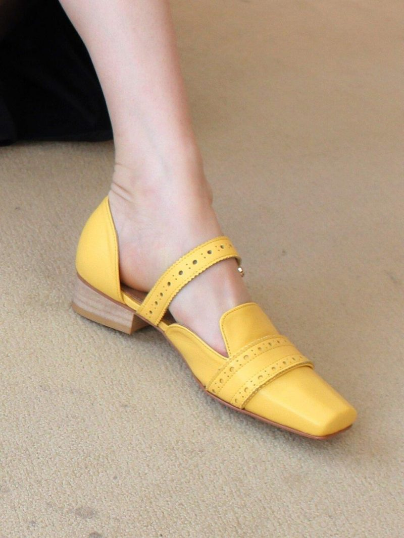 Lala Loafers Yellow