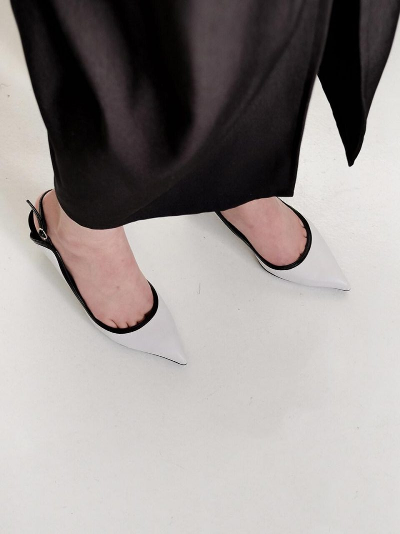 M Sling Back Shoes_wcp20s_White
