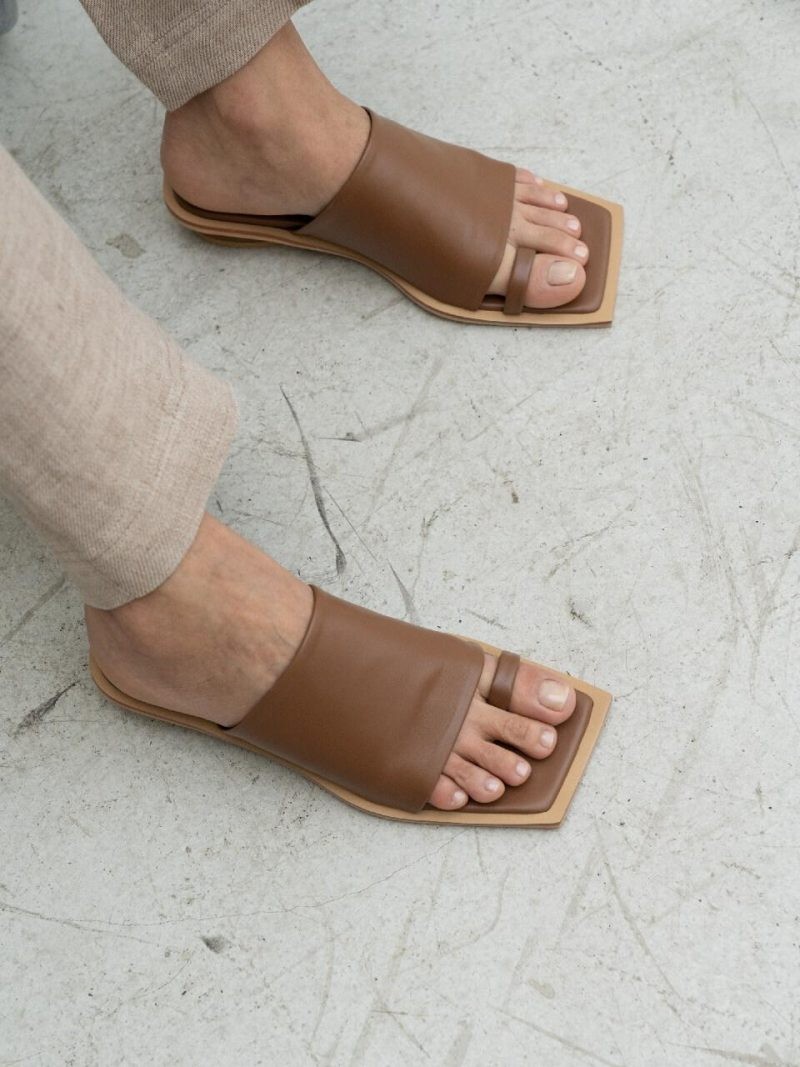 Mannish Sandal Brown
