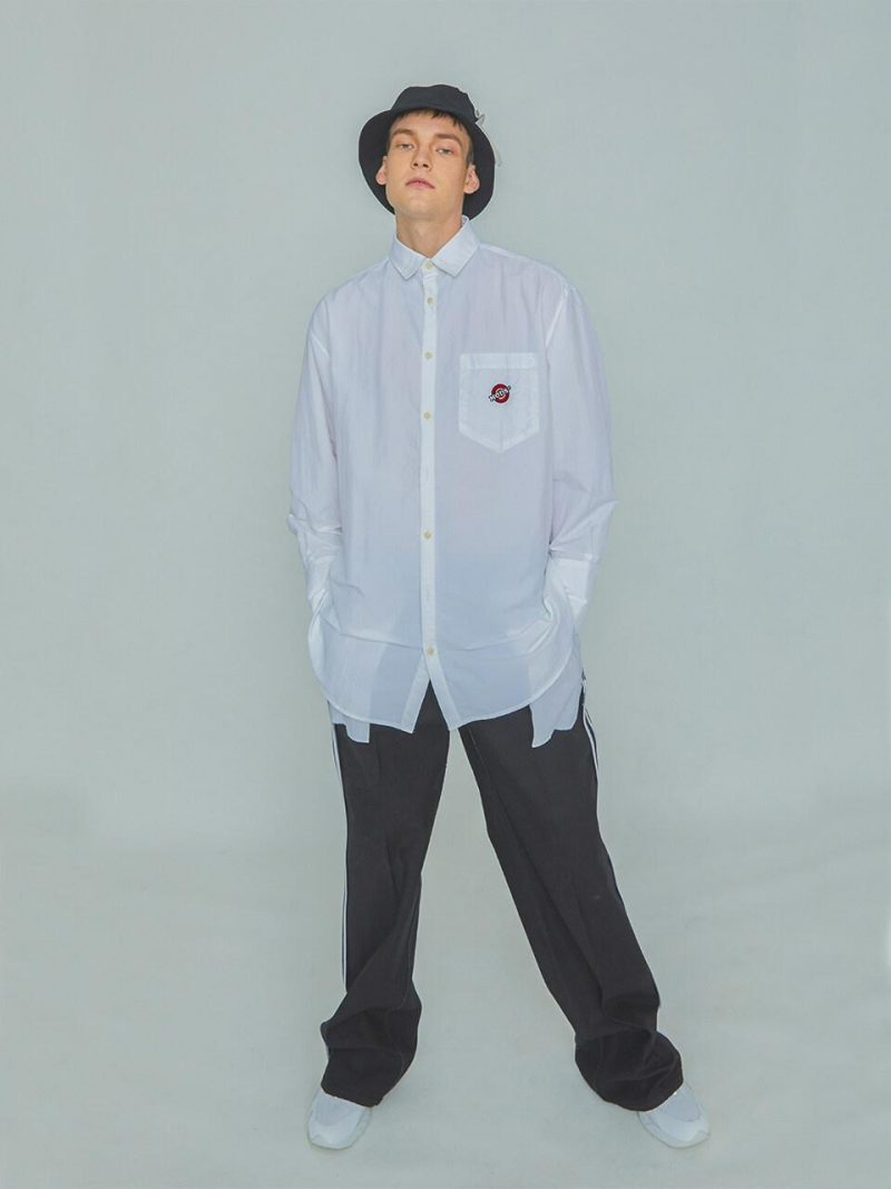 Mods Logo Shirt White