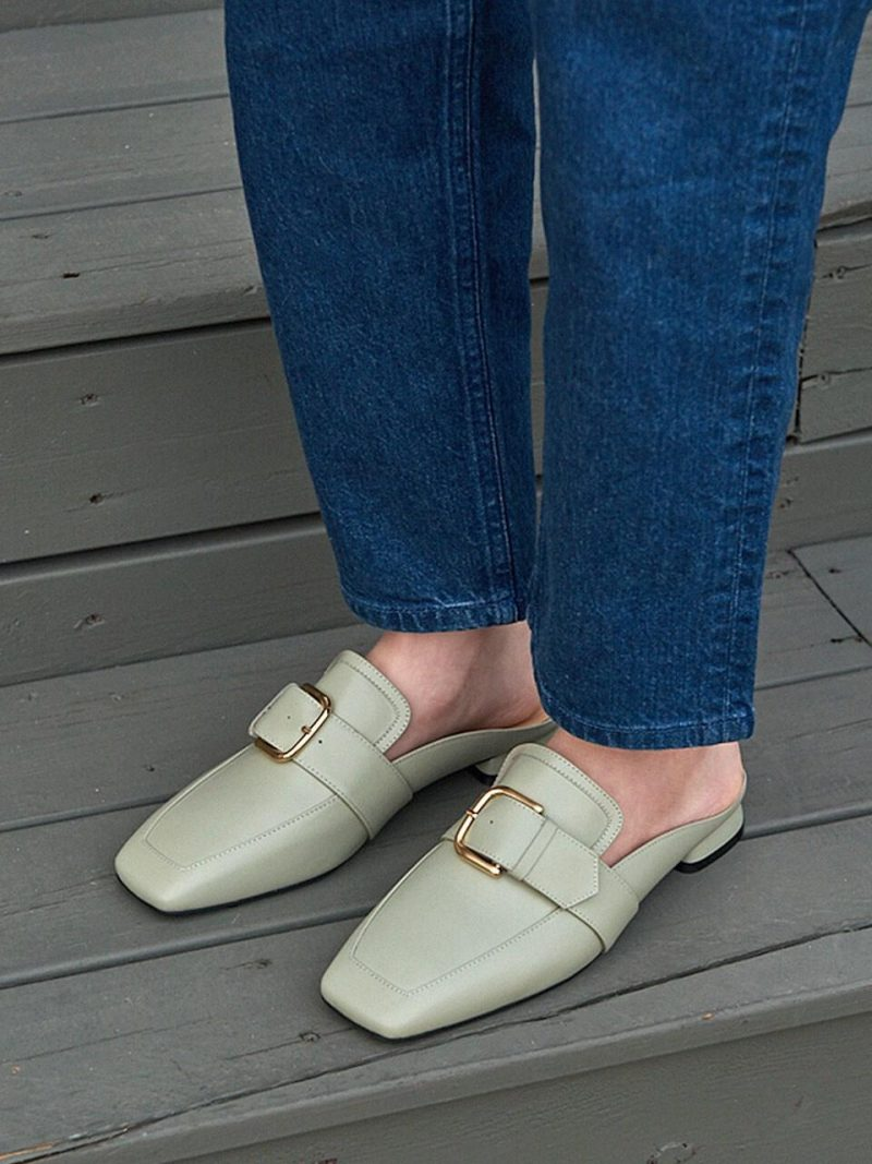 N20-S112_Backless Loafer_Pistachio