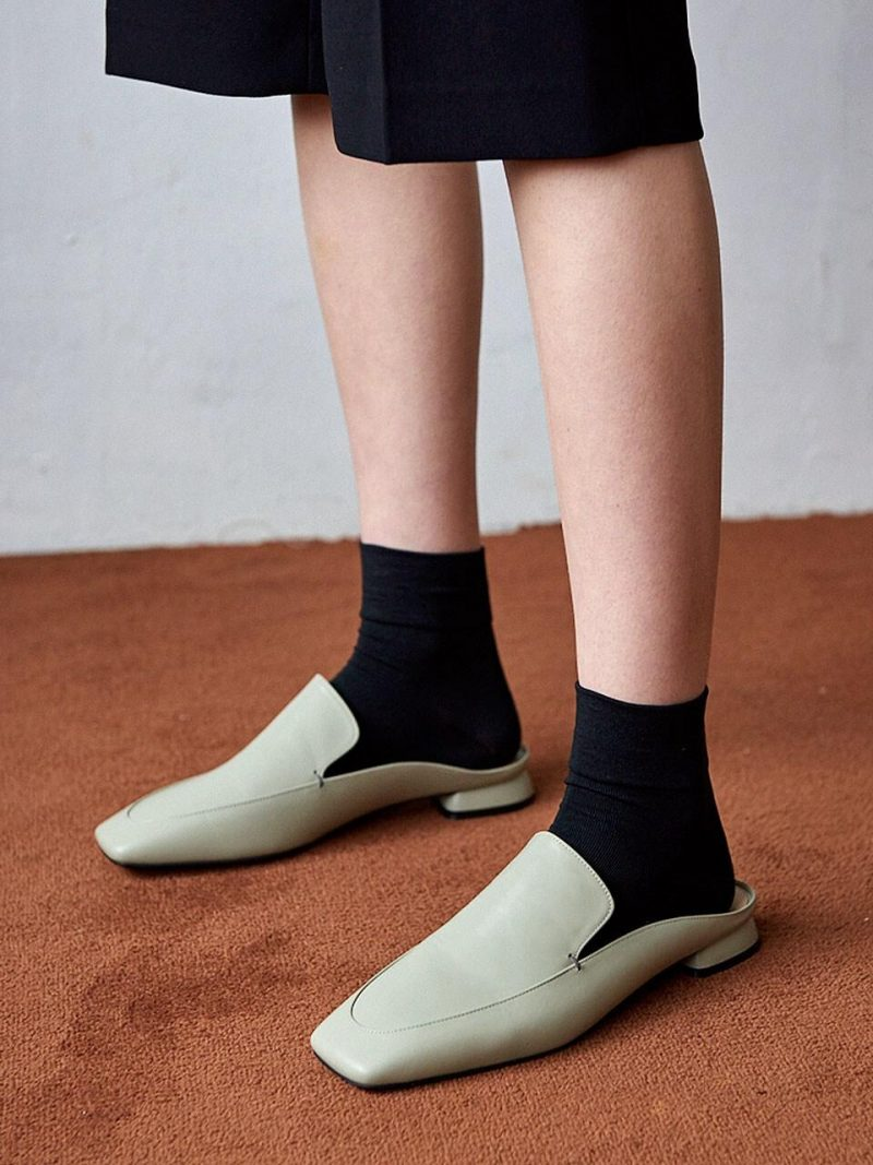 N20-S179_Backless Loafer_Pistachio