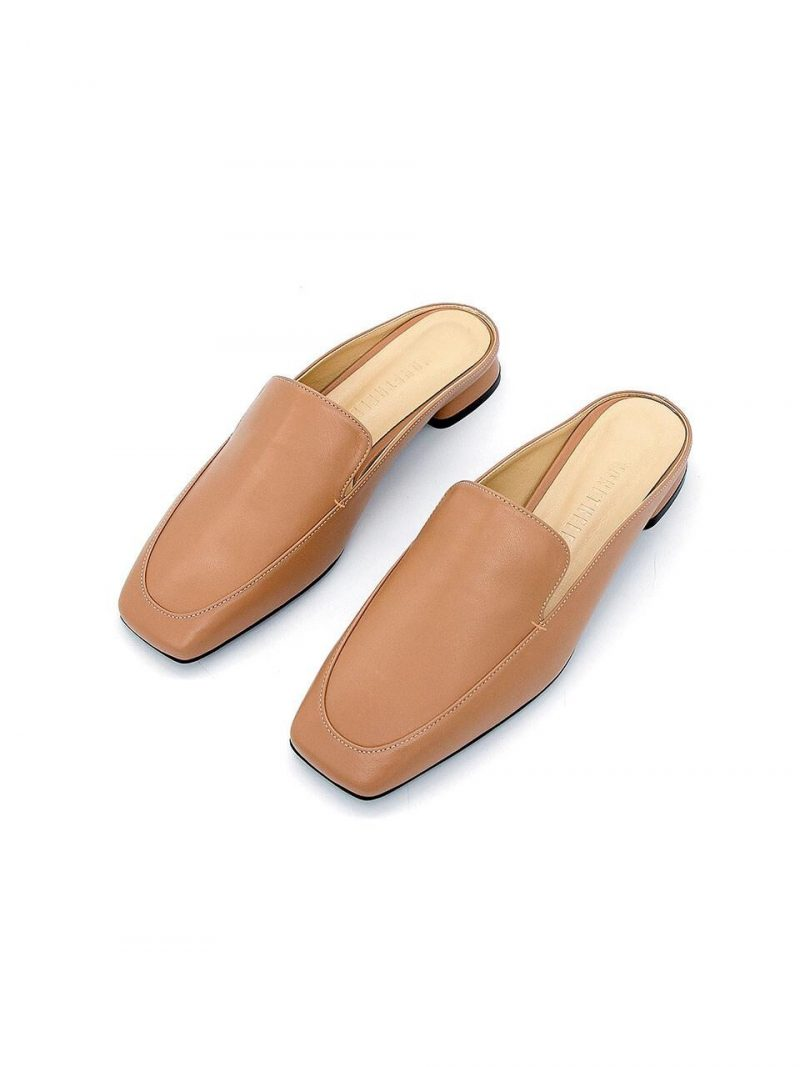 N20-S179_Backless Loafer_Taupe