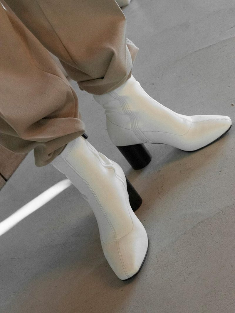 New Span Boots_Low_White