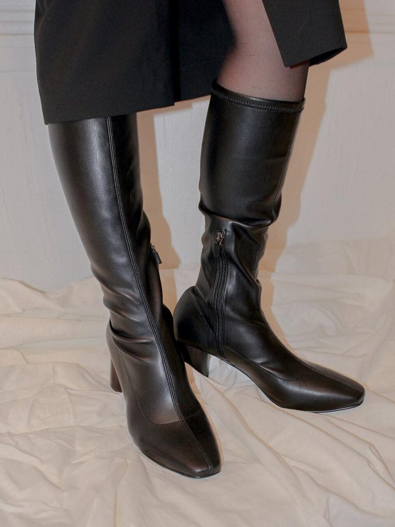 New Span Boots_Middle_Black