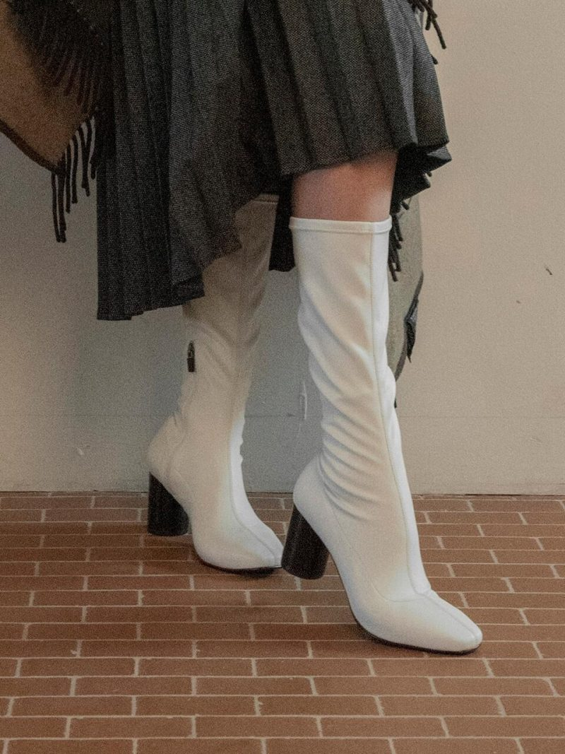 New Span Boots_Middle_White