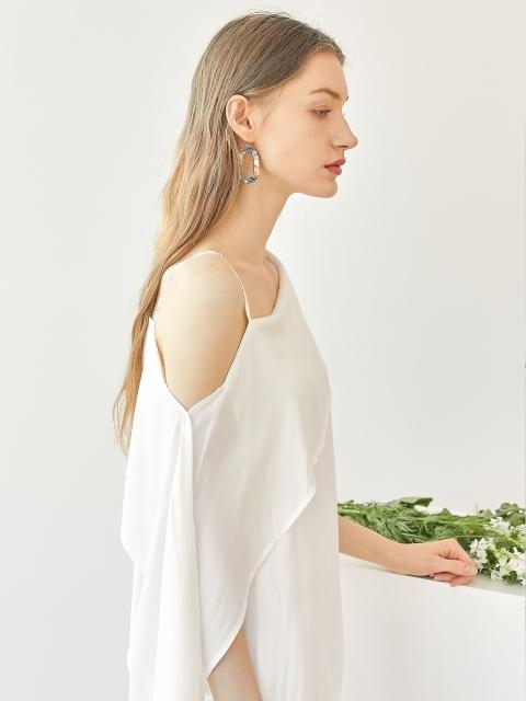 Off Shoulder Blouse - White