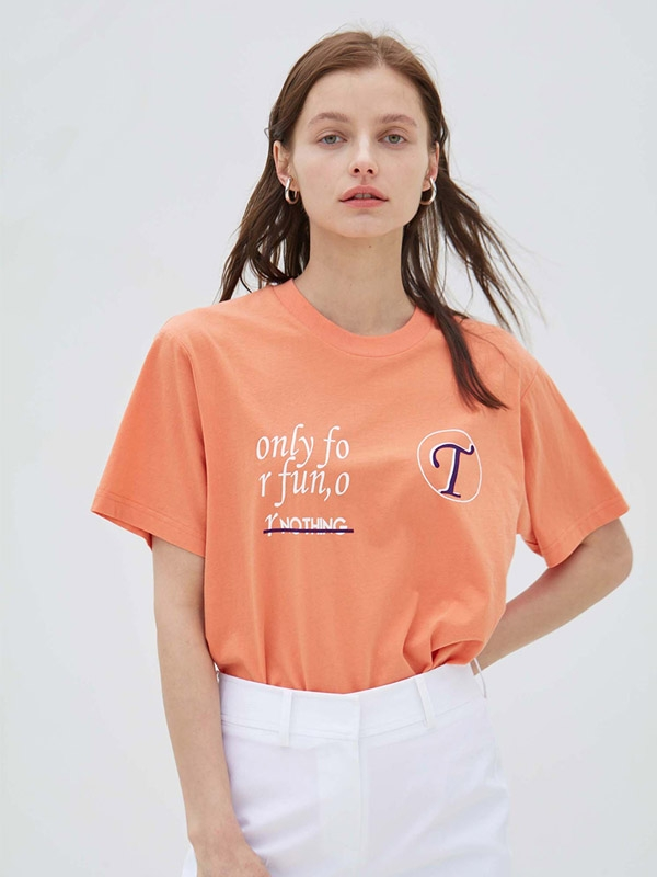 Only For T-shirt Orange