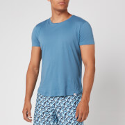 Orlebar Brown Men's OB-T Tailored Fit Crew Neck T-Shirt - Blue Haze - S