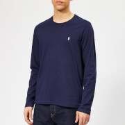 Polo Ralph Lauren Men's Long Sleeve Liquid Jersey T-Shirt - Cruise Navy - XL - Blue