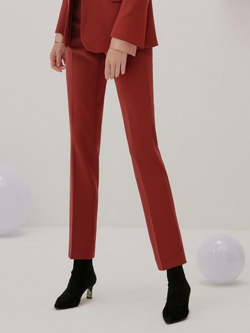 (Priority Shipping) Slim Straight Trousers