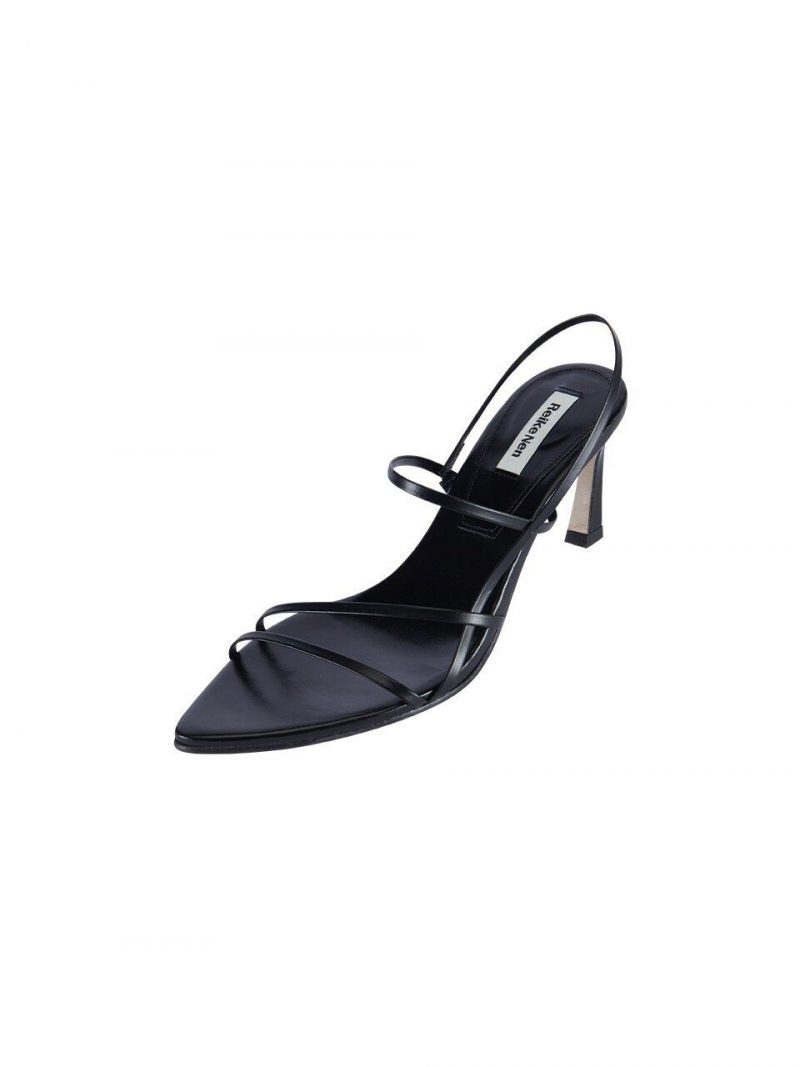 RL3-SH015 3 Strappy Pointed Sandals