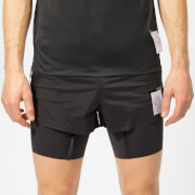 Satisfy Men's Short Distance 8 Inch Shorts - Black Silk - S