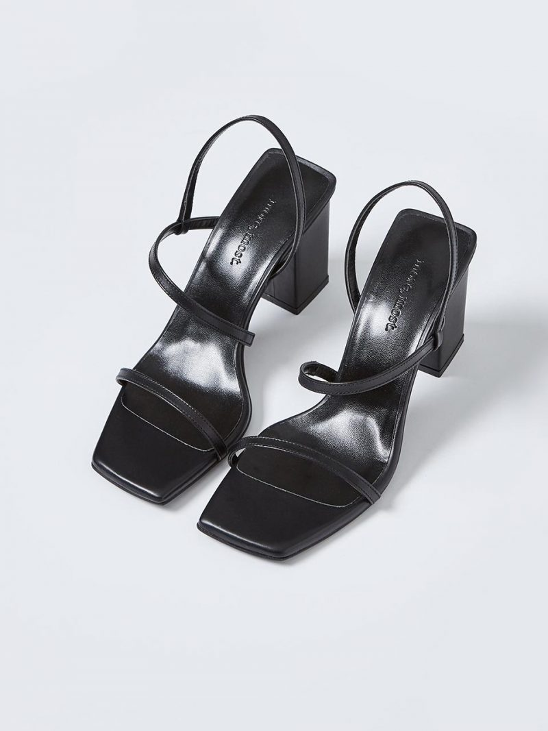 Slim Line Sandal_MM063_Black