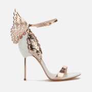 Sophia Webster Women's Evangeline Heeled Sandals - White/Rose Gold - UK 3