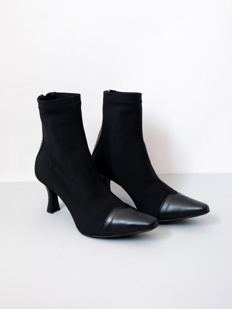 Square Span Ankle Boots