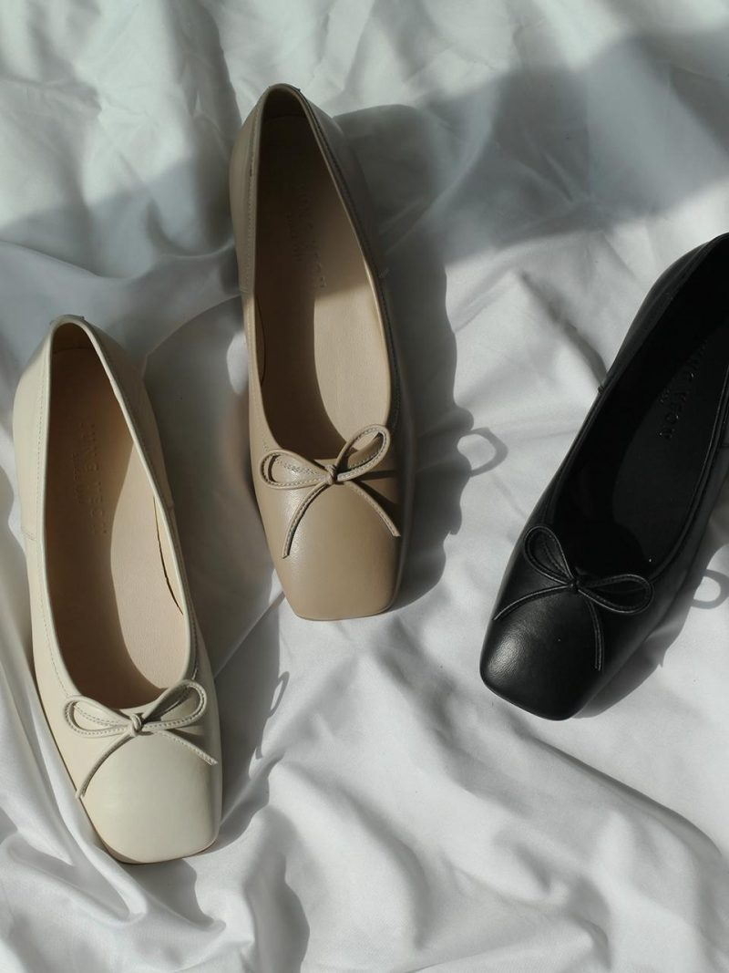 Squared Ballerina Shoes 3 Colors