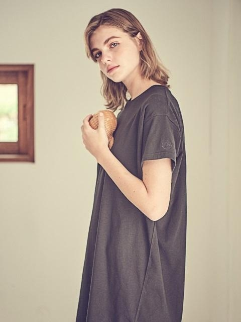 T-shirt Dress Black